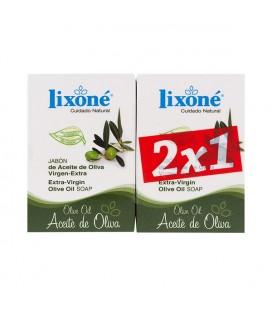 Ensemble de Savons Olive Oil Lixoné (2 pcs)