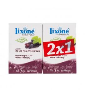 Ensemble de Savons Red Grape Wine Lixoné (2 pcs)