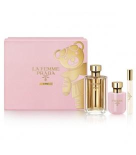 Set de Parfum Femme La Femme Prada (3 pcs)