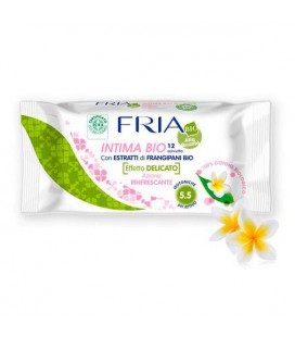 Lingettes Intimes Herbs Rose Fria (12 uds)