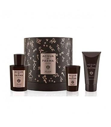 Set de Parfum Homme Sandalo Acqua Di Parma (3 pcs)