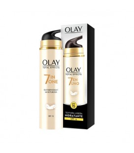 Crème hydratante anti-âge Total Effects Olay SPF 15 (50 ml)