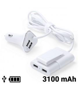 Chargeur USB pour Voiture 4 Ports 3100 mAh 145209