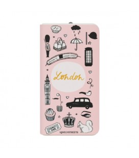 Power Bank Lovely Streets Mr. Wonderful LSPWB005 4000 mAh Londres Rose