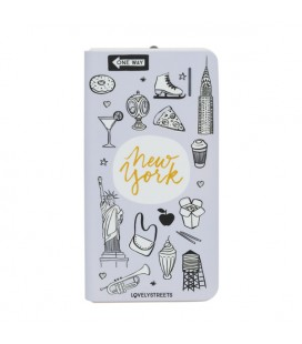 Power Bank Lovely Streets Mr. Wonderful LSPWB006 4000 mAh New york Gris