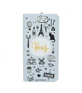 Power Bank Lovely Streets Mr. Wonderful LSPWB004 4000 mAh Paris Gris