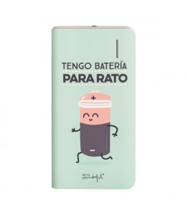Power Bank Mr. Wonderful MRPWB006 4000 mAh Vert
