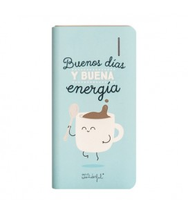 Power Bank Mr. Wonderful MRPWB004 4000 mAh Bleu