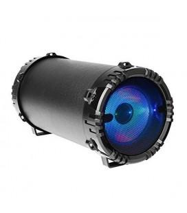 Haut-parleurs bluetooth portables Mars Gaming MSB0 LED RGB 10W Noir