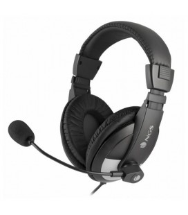 Casque & Microphone NGS MSX9 Jack 3,5 mm Noir