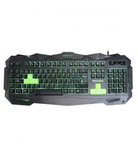 Clavier pour jeu KEEP OUT F80 Noir/vert