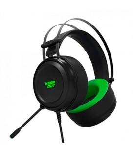 Casques avec Micro Gaming KEEP OUT HX10 Noir Vert