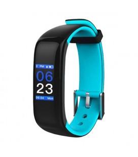"Bracelet d'activités BRIGMTON BSPORT-15-A 0,96"""" OLED 150 mAh Bluetooth 4.0 Bleu"