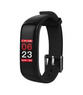 "Bracelet d'activités BRIGMTON BSPORT-15-N 0,96"""" OLED 150 mAh Bluetooth 4.0 Noir"