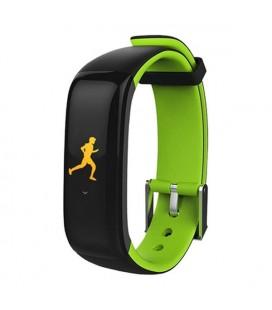 "Bracelet d'activités BRIGMTON BSPORT-15-V 0,96"""" OLED 150 mAh Bluetooth 4.0 Vert"