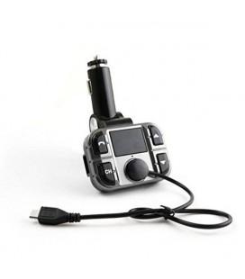 Lecteur MP3 et émetteur FM pour voiture Omega OUTF28 Gris