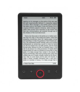 "eBook Denver Electronics EBO-620 6"""" 4 GB Noir"