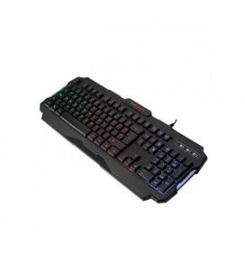 Clavier pour jeu Mars Gaming MRK0 RGB USB 2.0 Noir