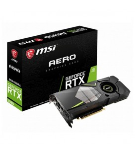 Carte Graphique Gaming MSI NVIDIA RTX 2080 AERO 8 GB GDDR6
