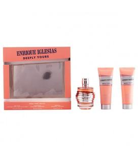 Set de Parfum Femme Enrique Iglesias Deeply Yours Woman Singers 925801 (3 pcs)