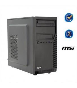 PC de bureau iggual PSIPCH40 i7-8700 8 GB RAM Noir