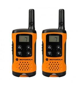 Talkie-walkie Motorola TLKR T41 4 km LCD 16 h AAA Noir Orange