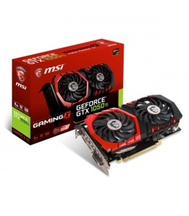 Carte Graphique Gaming MSI VGA VGA NVIDIA GTX 1050 Ti 4 GB DDR5