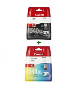 Cartouche d'Encre Originale (lot de 2) Canon PG540XL+CL541XL XL Noir/tricolore