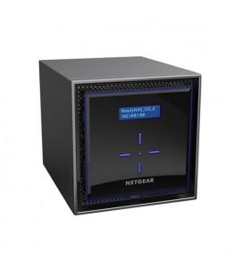 Stockage en Réseau NAS Netgear RN42400-100NES Intel Atom C3338 2 GB RAM 48 TB Noir