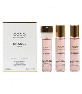 Set de Parfum Femme Coco Mademoiselle Chanel (3 pcs)