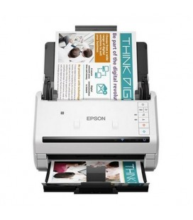 Scanner Double Face Epson WorkForce DS-570W 600 dpi WIFI LAN Blanc