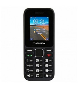 """Téléphone Portable Thomson TLINK11BLK 1,77"""""""" FM Bluetooth 600 mAh Noir"""