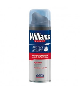 Mousse à raser Williams Peau sensible (200 Ml)
