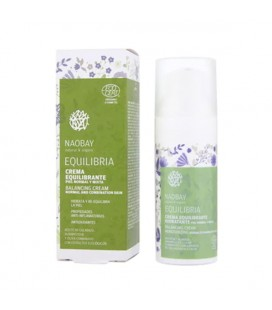 Crème régénératrice anti-âge Equilibria Naobay (50 ml)