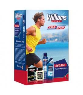 Ensemble de Soin Personnel pour Homme Pack Sport Williams (4 pcs)
