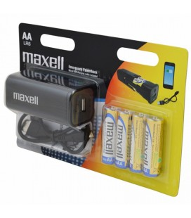 Power Bank Maxell 219410 4 x AA Noir