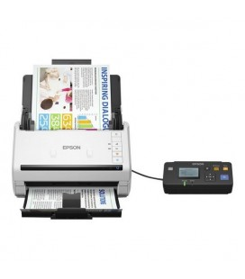 Scanner Double Face Epson DS-530 600 dpi 70 ppm LAN USB 3.0 Blanc