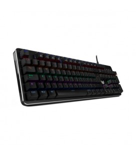 Clavier pour jeu BG RAVEN LED RGB Noir